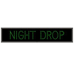 Drive-Up Night Drop LED Signs