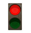 Drive-Up LED Traffic Lights