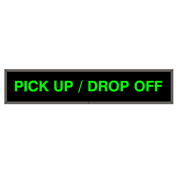 Led Back Lit Pick Up Drop Off Sign besides Led Back Lit Open Full Sign 7x34 besides Plastic Bollard Covers as well Steel Bollards First Line Of Defense as well Led Open Closed Full Signs. on decorative bollard covers
