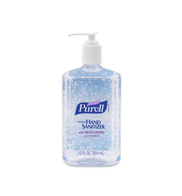 Purell instant hand sanitizer 12 oz pump bottle case of 12