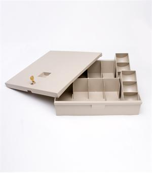Plastic Cash Tray Kit - with Lid
