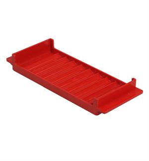 Standard Coin Tray - Pennies - Red