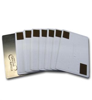 Metal Cleaning Card Kit ATM Smart Card (Chip) Readers