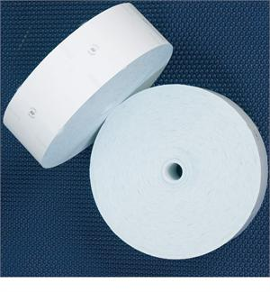 Wincor 80MM Wide Thermal Receipt Paper 152.4 MM Diameter - Black Image - No Sense Marks