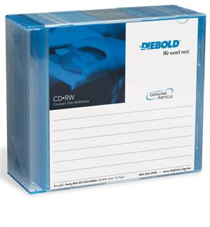 Diebold Opteva Journal CD-RW Disks