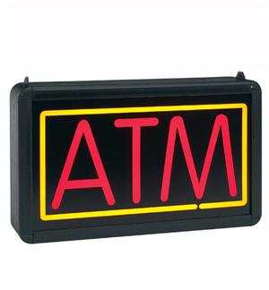 "Interior ""ATM"" Light Box - Double-Sided - 13""H x 24""W Horizontal"