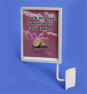 Clearview Metal Sign Holder