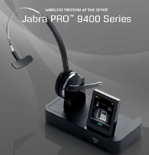 Jabra Pro 9450 Series Wireless Audio Phone System