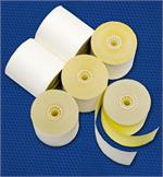 Diebold Mini Terminal Two-Ply Paper - 50 roll carton