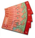 Euro ATM Demonstration Currency