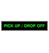 Drive-Up PICK UP /  DROP OFF Signs