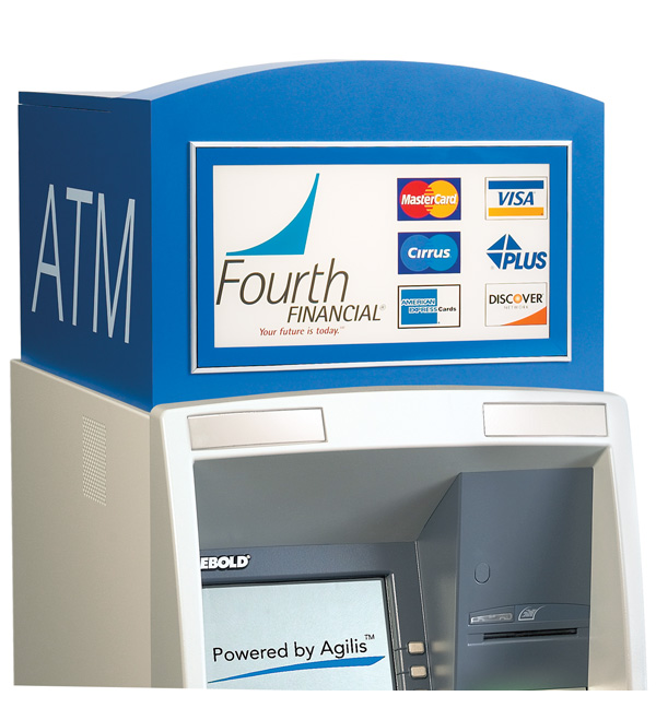 Traditional Low-Profile Opteva Storage ATM Topper